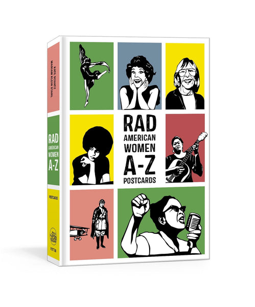 Rad Women Worldwide A-Z Postcard Book