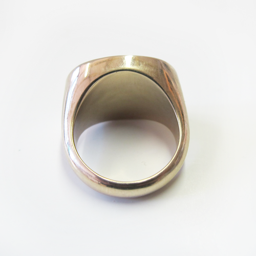 'feminist as fuck' signet ring