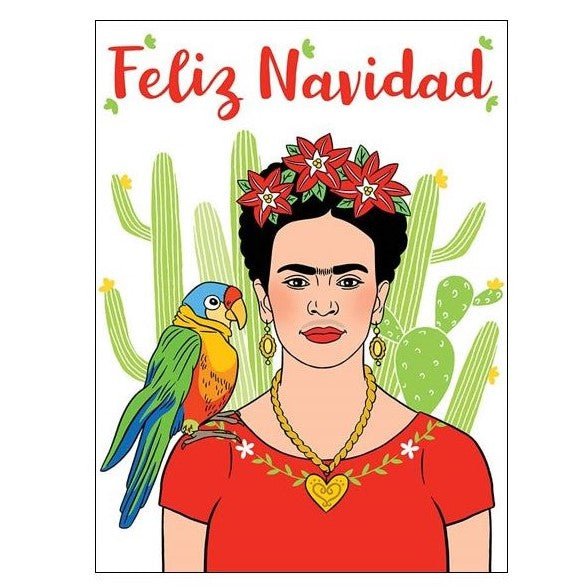 Feliz Navidad Friday Holiday Card