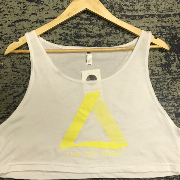 The Outrage Cropped Delta Tank