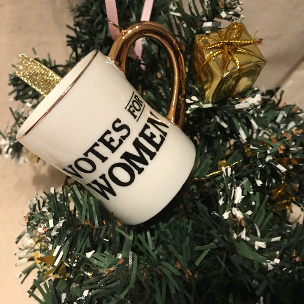 'Votes for Women' Ornament