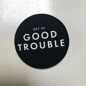 good trouble button