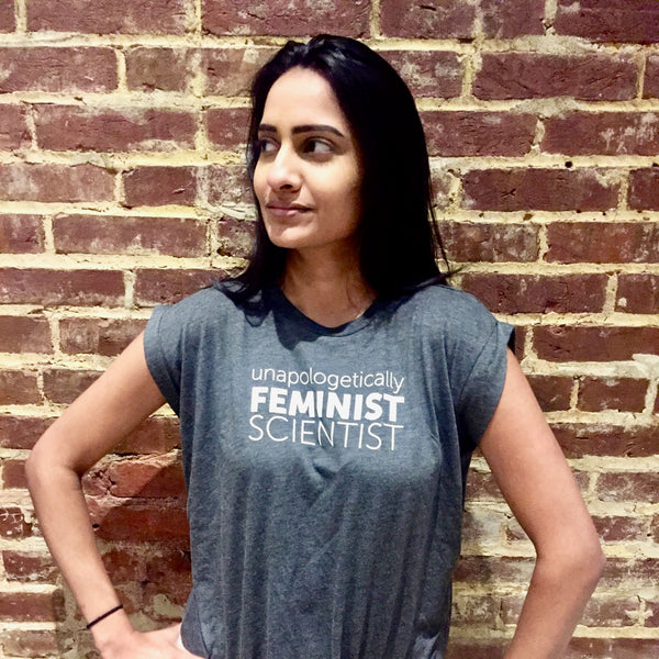 Unapologetic Feminist Scientist Flowy Tee