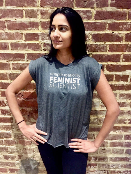 'Unapologetic Feminist Scientist' Women's Tee