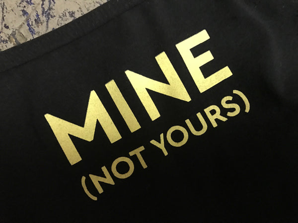 MINE (NOT YOURS) Jersey Underwear
