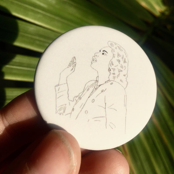 Anita Hill Button
