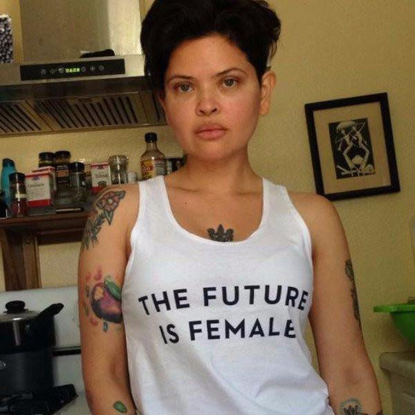 'the future is female' tank