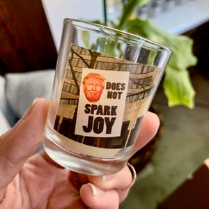Does Not Spark Joy Candle