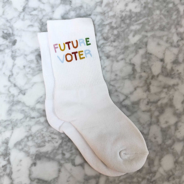 Future Voter Youth Socks