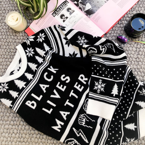 Black Lives Matter Holiday Sweater