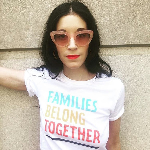 Families Belong Together White Tee