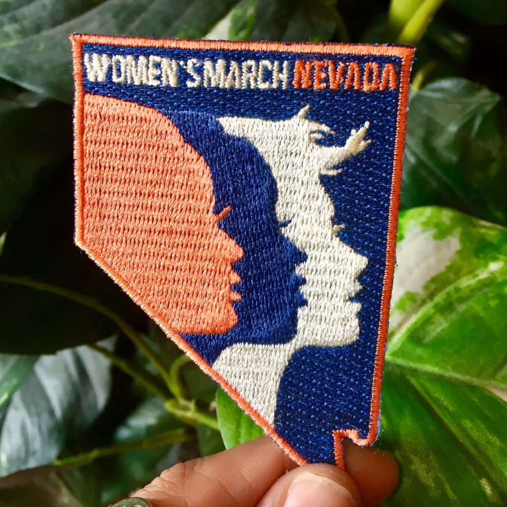 Women's March Nevada Patch