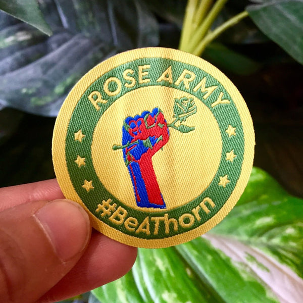 Rose Army Patch