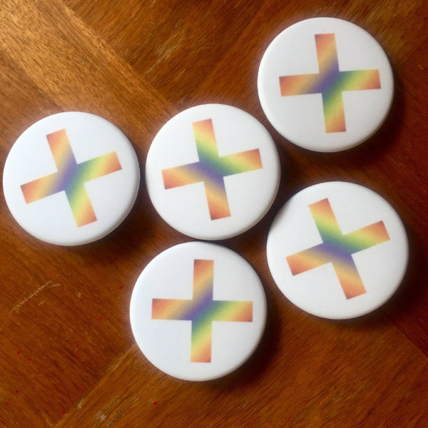 The xx Rainbow Button