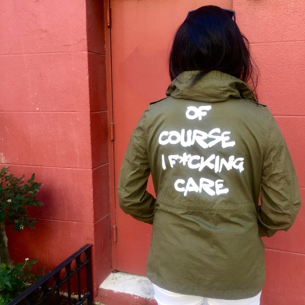 'Of Course I F*cking Care' Jacket