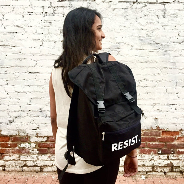 'RESIST' Backpack