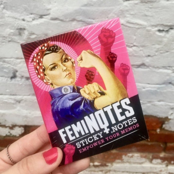 """FemiNotes"" Sticky Notes"