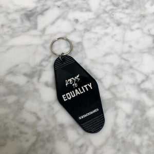Keys to Equality Keychain