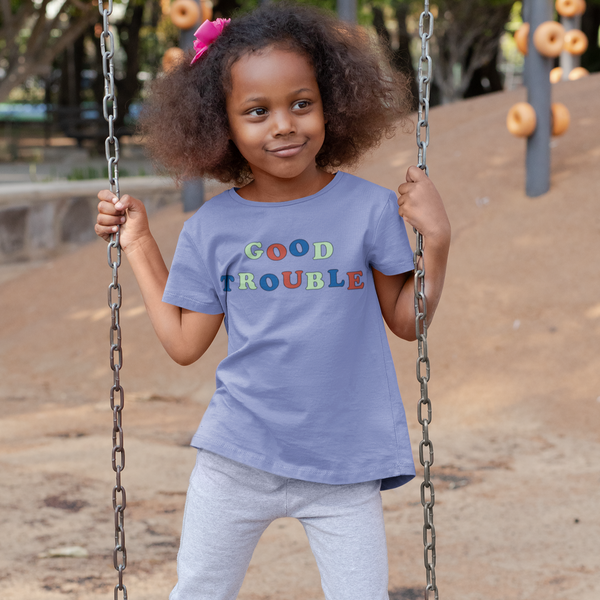 good trouble kids tee