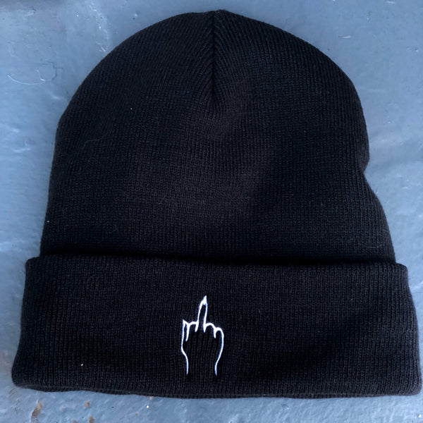 Middle Finger Beanie