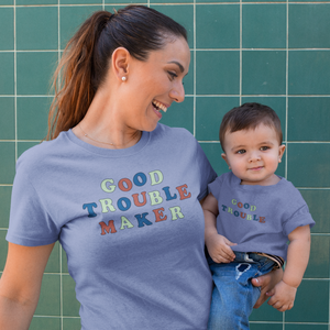good trouble toddler tee