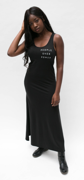 People Over Power Maxi Dress