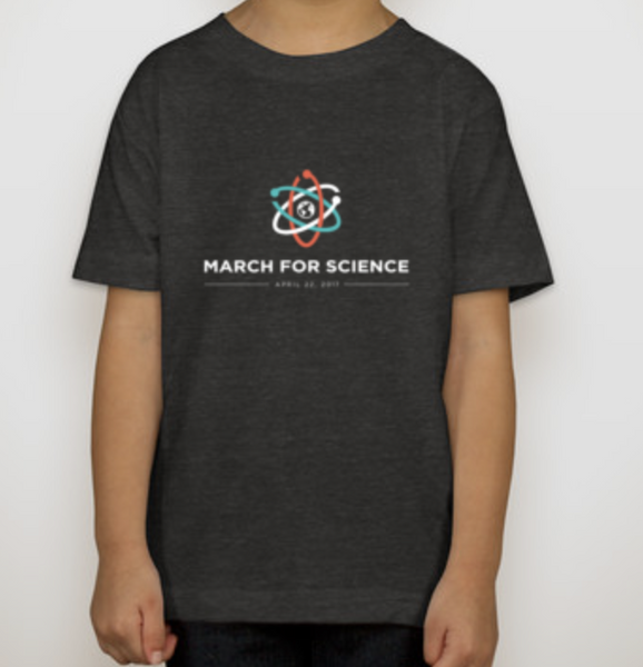 March for Science Official logo Kids T-shirt