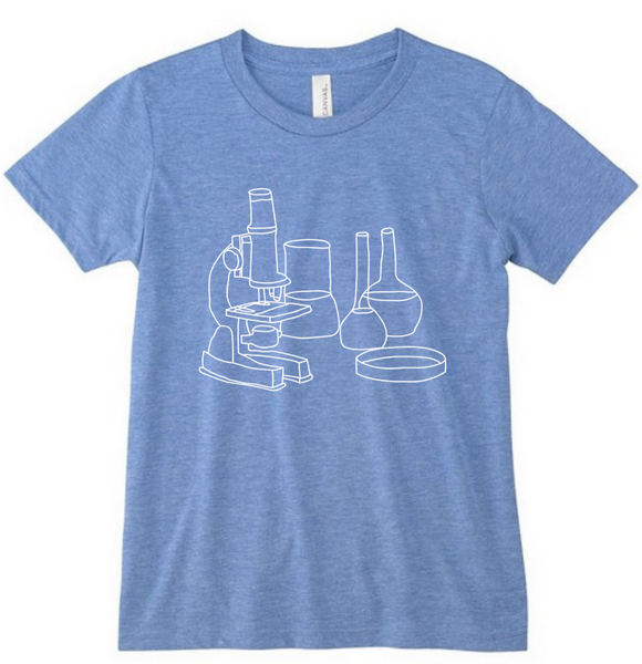 Science Lab Tri-blend Youth Shirt