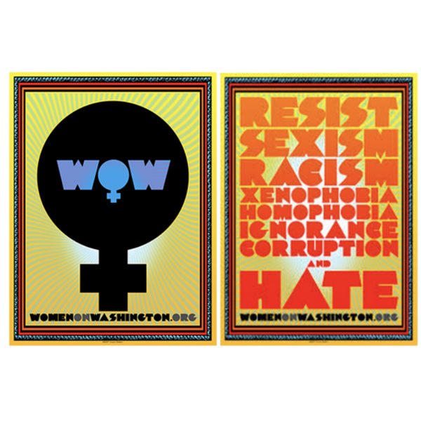 LIMITED EDITION Chuck Sperry - Women's March Poster