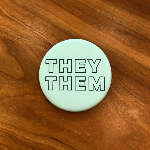 They Them Button