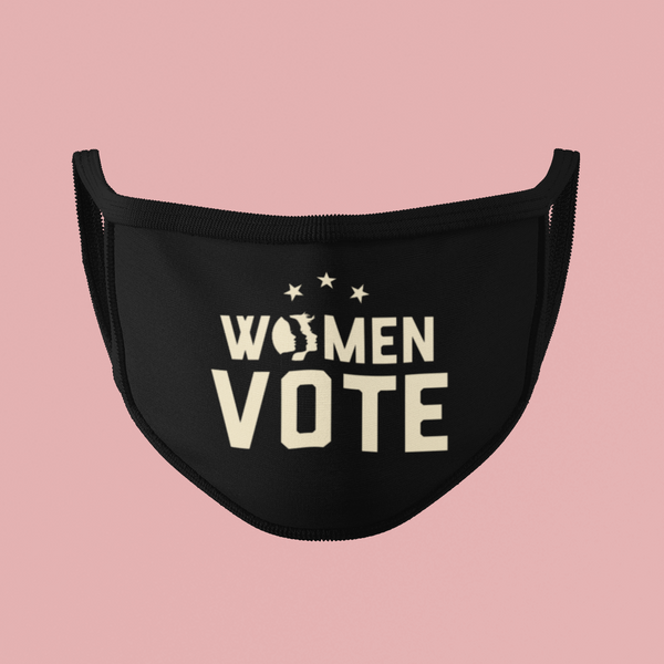 Women Vote Face Mask