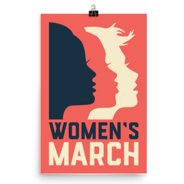 Women's March Official Logo Poster