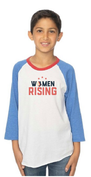 Women Rising Youth Raglan