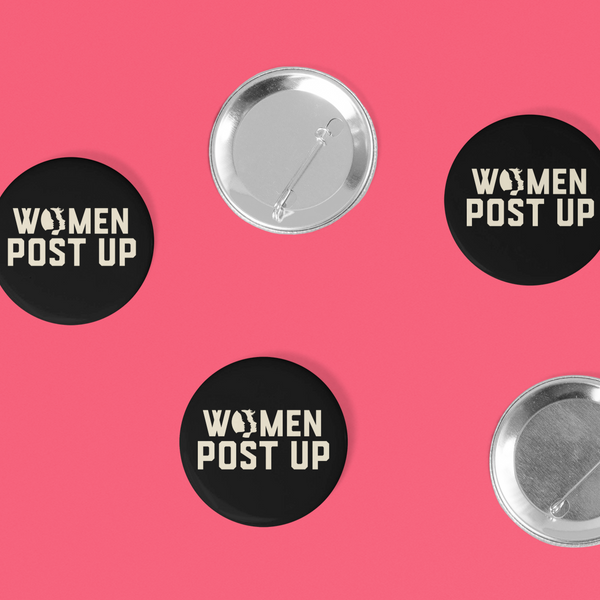 Women Post Up Buttons