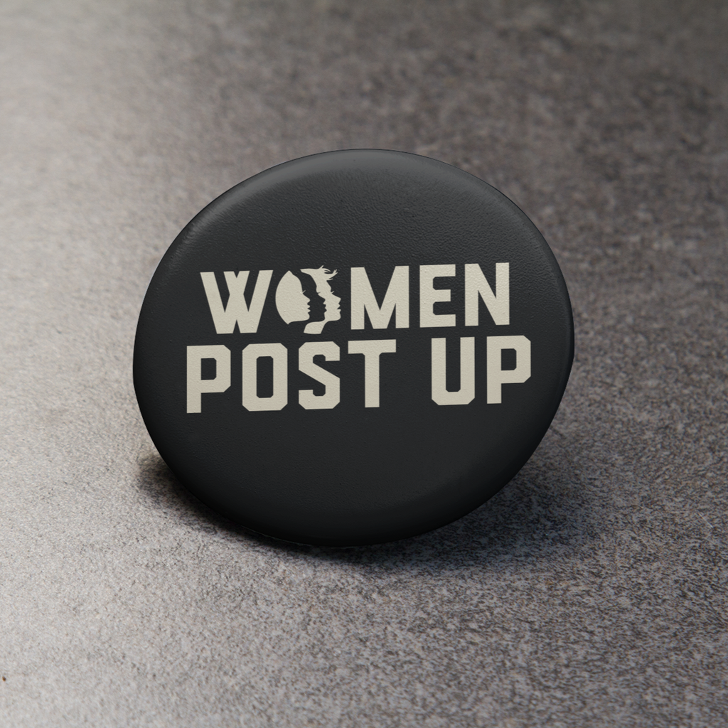 Women Post Up Button