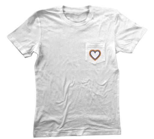 'Love with Pride' Pocket Tee