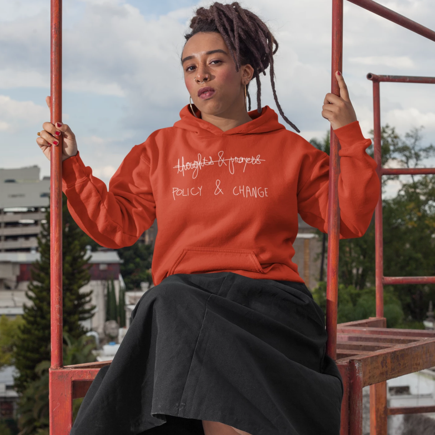 Policy & Change Hoodie