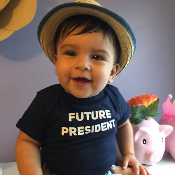 'Future President' Kid's Onesie & T-Shirt