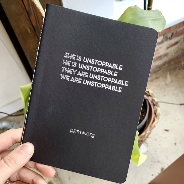'We are unstoppable' Notebook