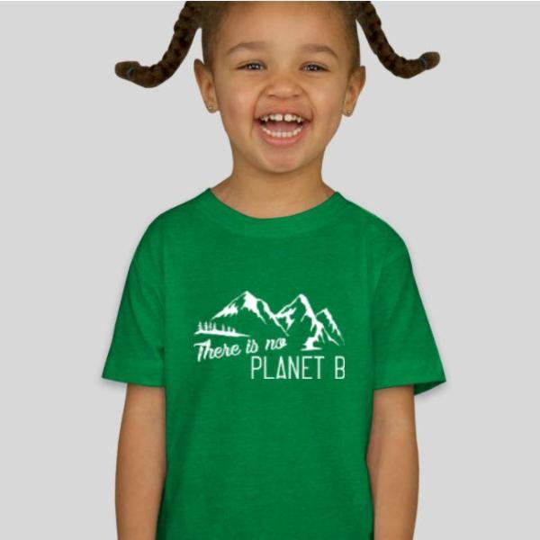 """There is no Planet B"" Kids T-shirt"