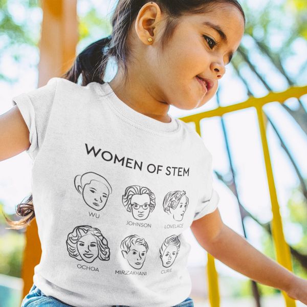 Women Of STEM Kids Tee