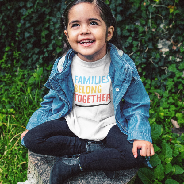 Families Belong Together Kids Tee