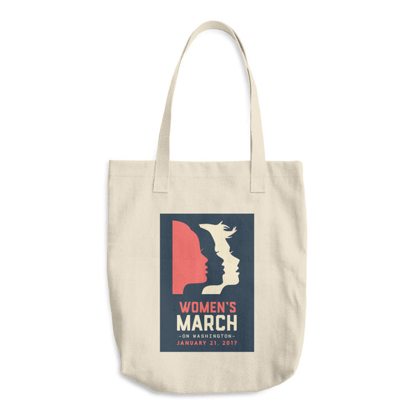 Women's March on Washington official logo tote bag
