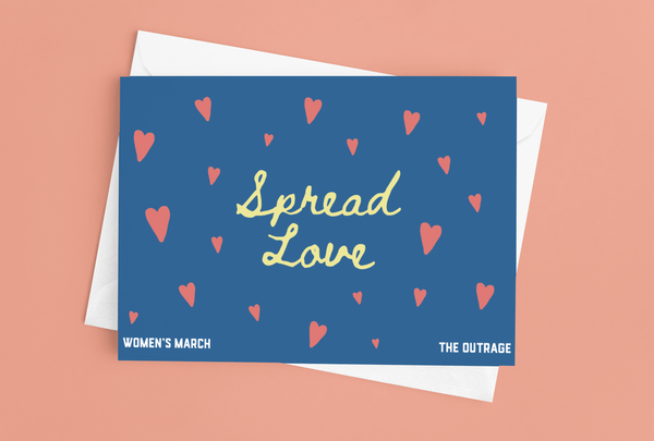 Spread Love Postcard