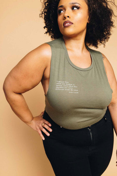 Audre Lorde Quote Tank