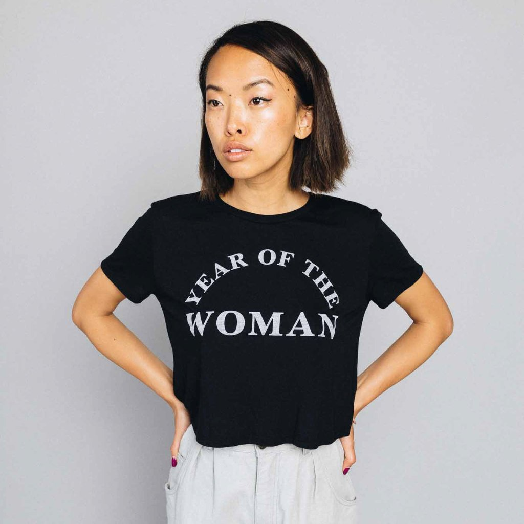 Year Of The Woman Cropped Tee