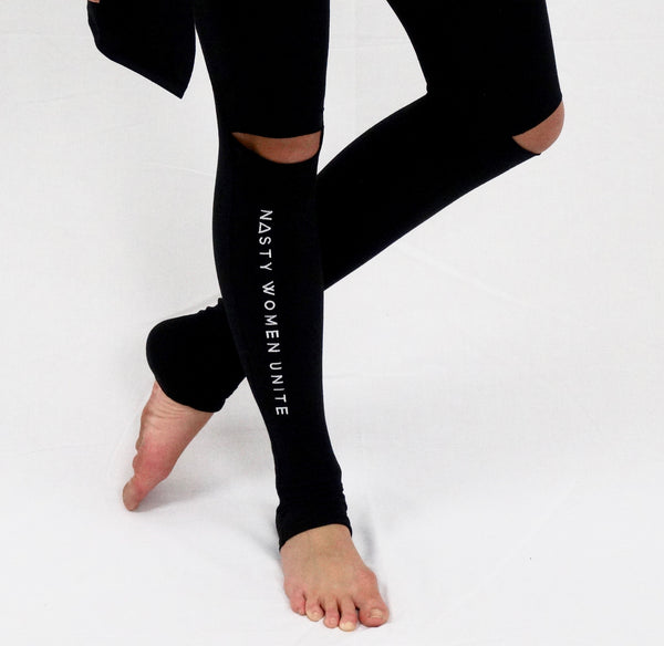 'nasty women unite' leggings by la forma