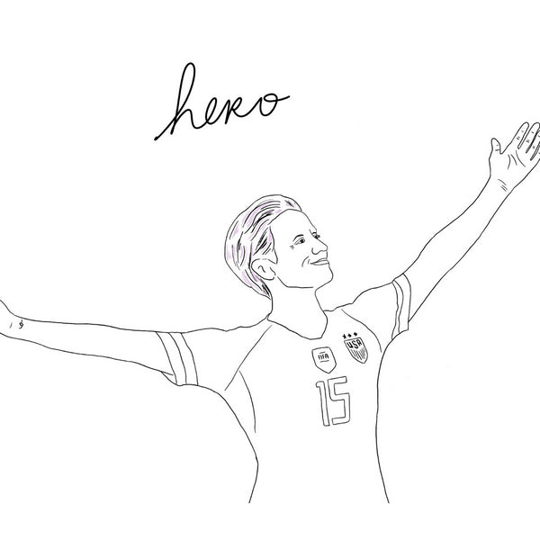 Megan Rapinoe Is A Hero Unisex Tee