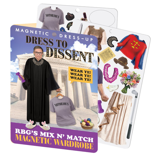 RBG Dress To Dissent Magnets