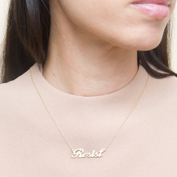 Resist Necklace